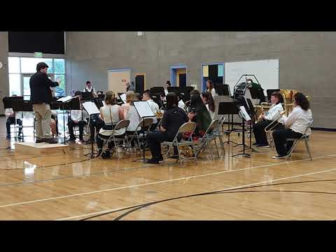 Cal Young Middle School Spring 2019 Advanced Band