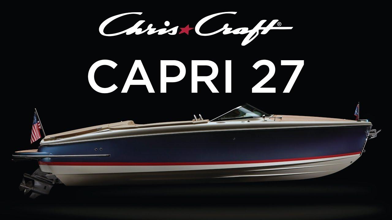 Chris-Craft: Capri 27