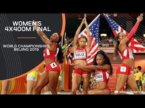 Women's 4x400m Relay Final | World Athletics Championships Beijing 2015