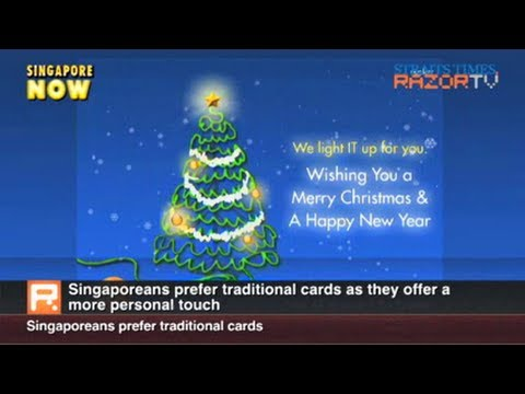 Singaporeans prefer traditional greeting cards (Are e-cards impersonal? Part 1)