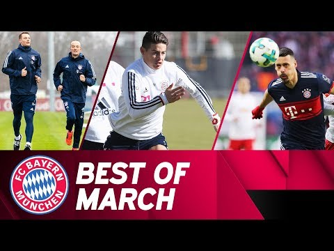 Bundesliga & champions league | fc bayern enter final phase of the season! | best of march