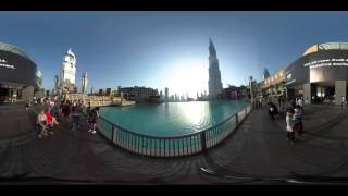 360 VR of Burj Khalifa (View 1)