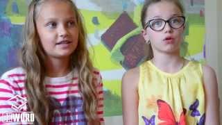 Студенты Даша и Настя об ОКВОРД (Пинск)