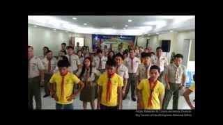 """Scouts go """"Gangnam Style"""" (HD)"""