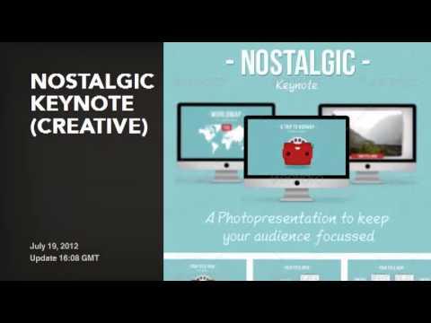 50 creative keynote presentation templates youtube. Black Bedroom Furniture Sets. Home Design Ideas