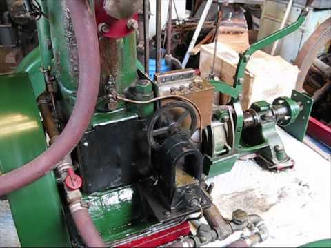 Marine Gas Engine 1913 Hicks 6hp