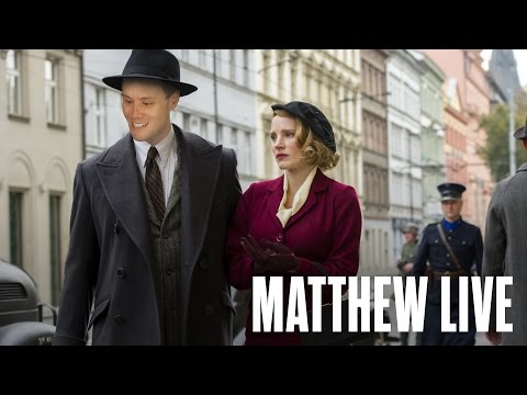 Thumbnail: THE ZOOKEEPER'S WIFE - Movies & Matthew Hoffman, LIVE!