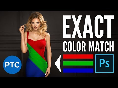 A Better Way To Match Specific Colors To Any Object In Photoshop!