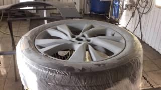 Кузовной ремонт Инфинити JX 35,покраска диска(, 2016-09-24T11:15:58.000Z)