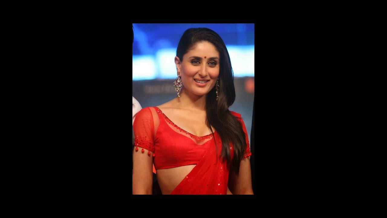 Kareena Kapoor - Hot In Red Saree - Youtube-7586