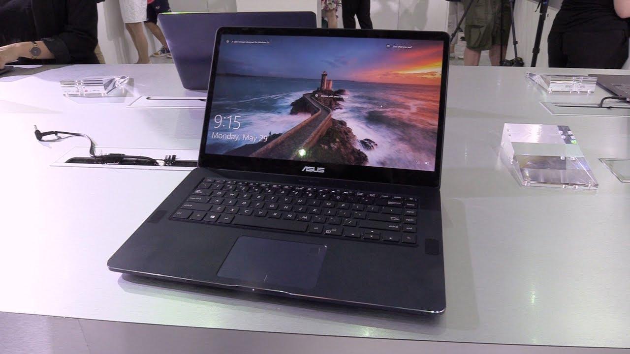 ASUS、15.6インチ4KノートPC「ZenBook Pro UX550」を発表 ―シリーズ最高の性能を実現