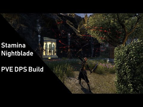 Stamina Nightblade PvE DPS Build + Trial rotation for Summerset