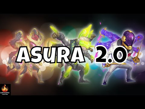 Asura CRIT MONSTER Castle Clash Best Heroes