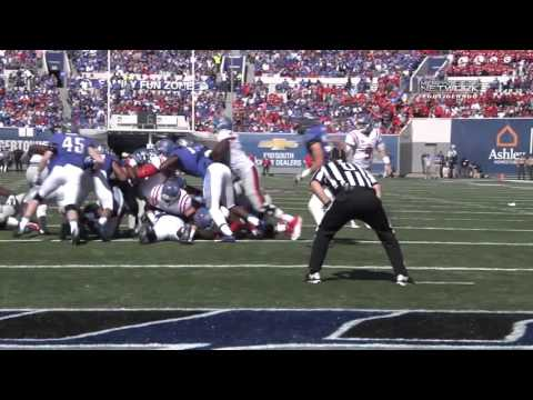 Memphis Football: Ole Miss Game Highlights