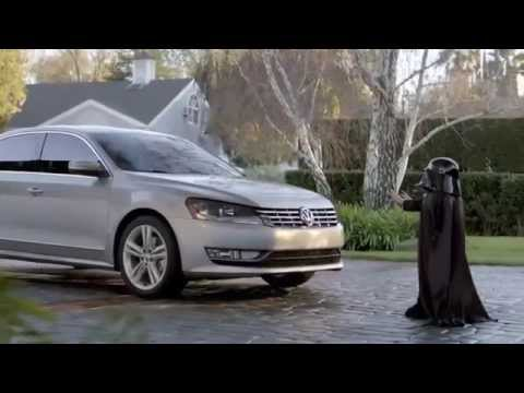 Darth Vader - The Force - Volkswagen Commercial - YouTube