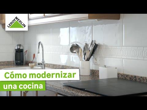 8bb514937215 Bricomanía: ¿Cómo modernizar una cocina? La experiencia de Fernando (Leroy  Merlin) - YouTube
