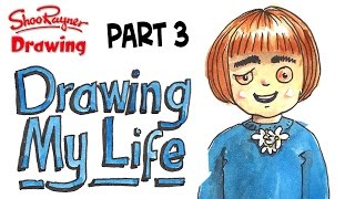 Drawing my life part 3 - who set fire to the house?