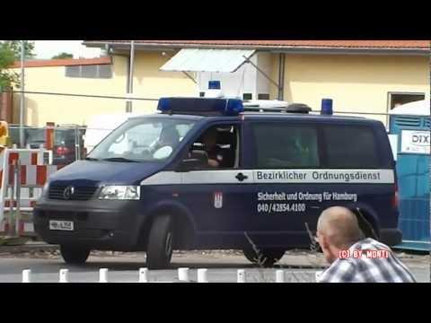 Ordnungsamt + ELW Rettungshundestaffel (BRH) Hamburg