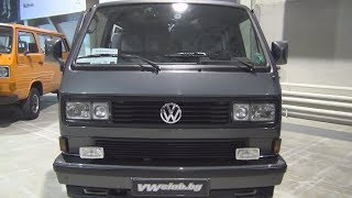 Volkswagen Transporter T3 Caravelle Carat (1989) Exterior and Interior