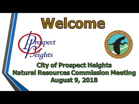 August  9, 2018 Natural Resources Commission