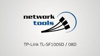 краткий обзор коммутаторов TP-Link TL-SF1005D и TL-SF1008D