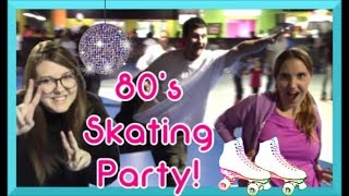 TotaLLy AWESOME! We Went Roller Skating and Filmed it Like an 80s Movie :)