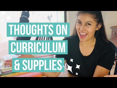 Simplifying your Homeschooling | Chatty video