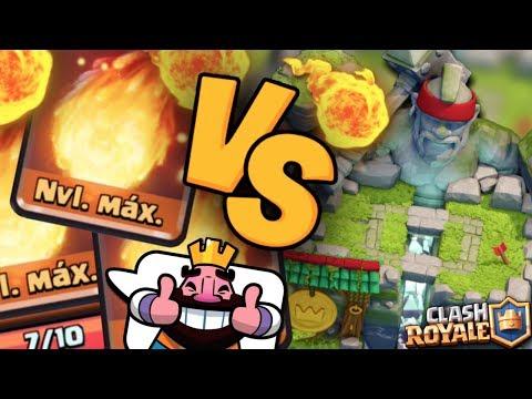 ¡¡ TROLLEANDO CON BOLA DE FUEGO NIVEL MÁXIMO EN ARENA 10 !! | Clash Royale [XHEO]