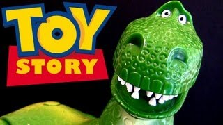 "Talking Rex Disneystore figure from Toy Story 12"" H - Disney Limited Edition"