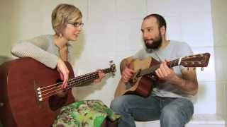 Our First Show! - Hail Mary acoustic - Pomplamoose