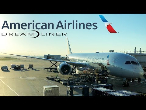 TRIP REPORT + TOUR: American Airlines | Boeing 787-9 | Dallas-DFW - San Francisco | Main Cabin