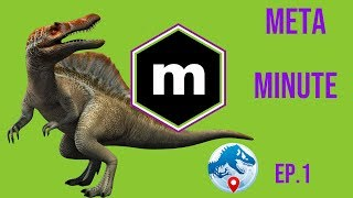 MetaMinute: Jurassic World Alive Podcast. Ep. 1 New Update First Impressions. How to Best Use Scents