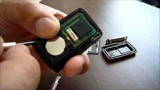 スマートキーの電池交換です.