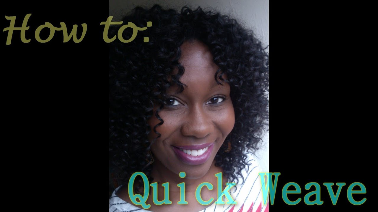 How To Protective Style Quick Weave Outre Sol Bohemian Youtube
