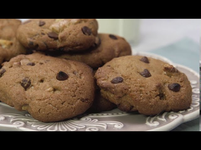 Cookies de nuez y chips de chocolate - Cucinare