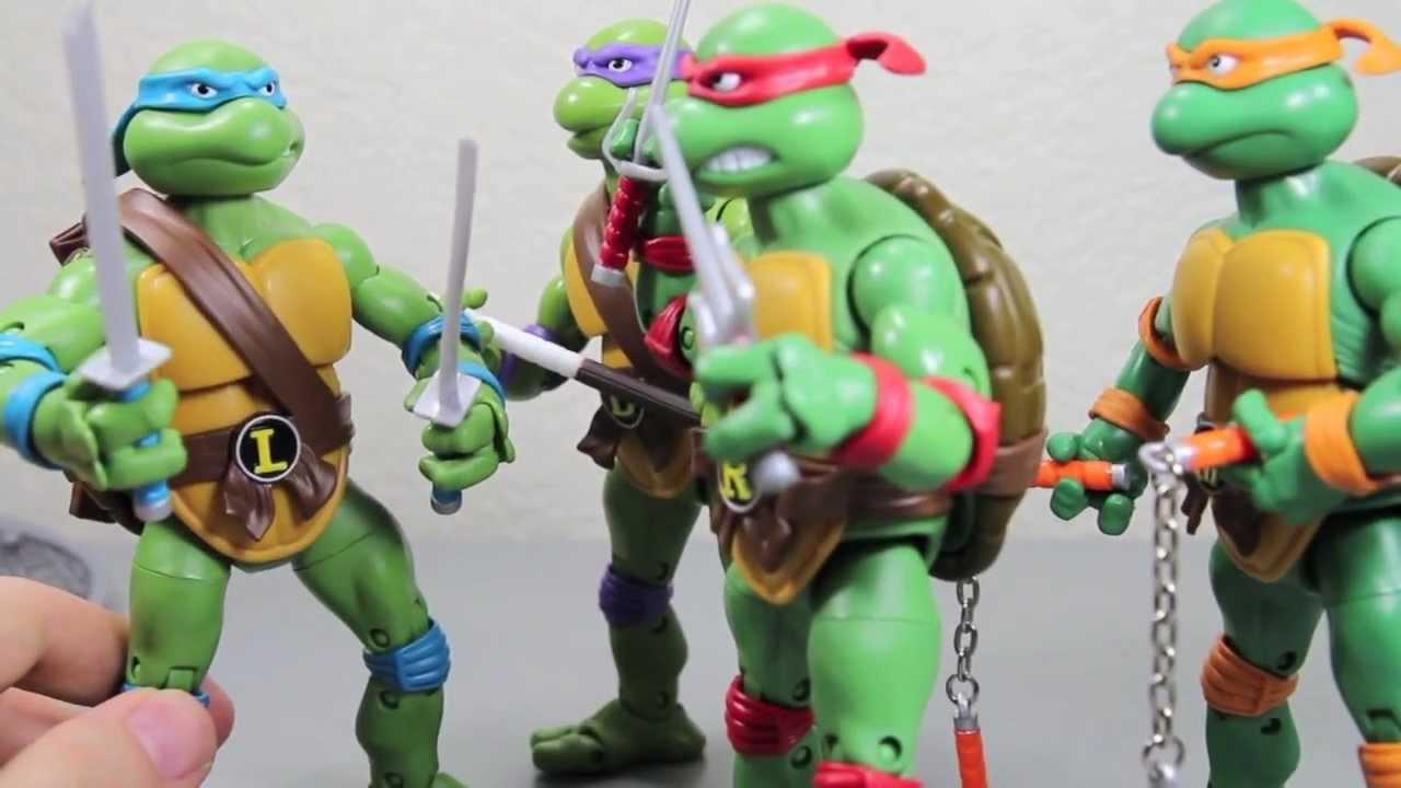 TMNT Teenage Mutant Nina Turtles Playmates 2013 Classic Collection Leonardo New