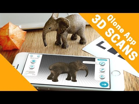 3D Scanner App For 3D Printing And More (Qlone For IPhone)