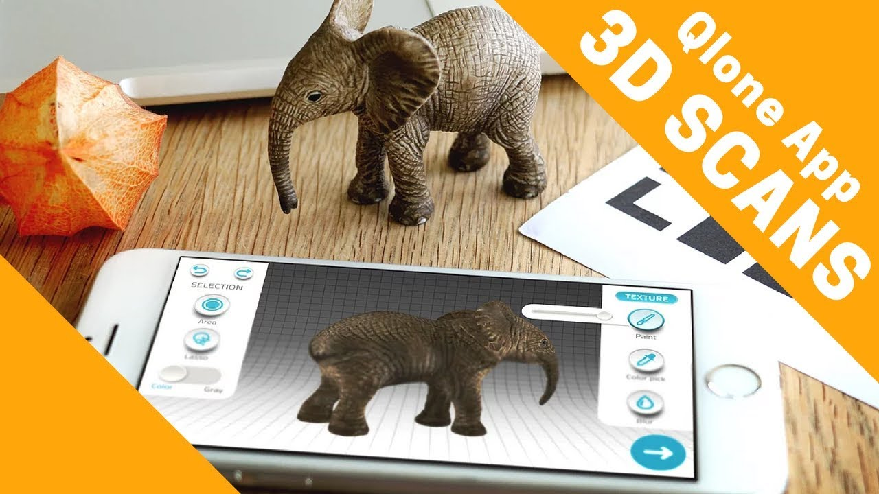 3d Scanner App >> 3d Scanner App For 3d Printing And More Qlone For Iphone