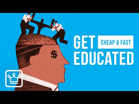 15 Ways To Get Educated Faster and Cheaper
