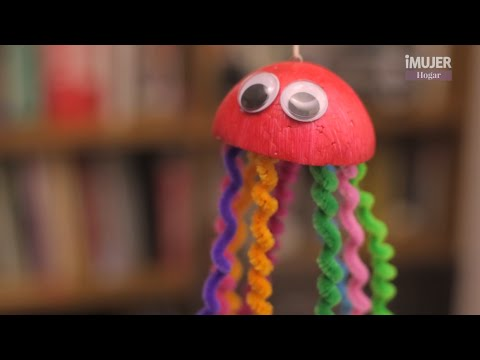 Medusas coloridas manualidades para ni os imujerhogar - Para ninos infantiles ...