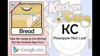 Pineapple Nut Loaf - Kitchen Cat