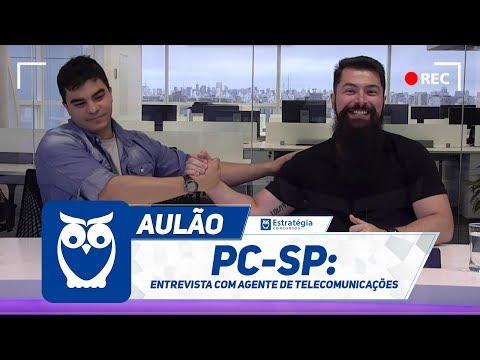 PC-SP - Entrevista com Agente de Telecomunicações