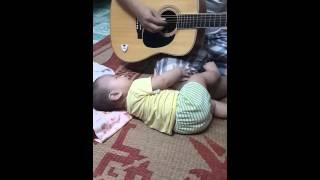 Ba kể con nghe Guitar Cover ru con ngủ