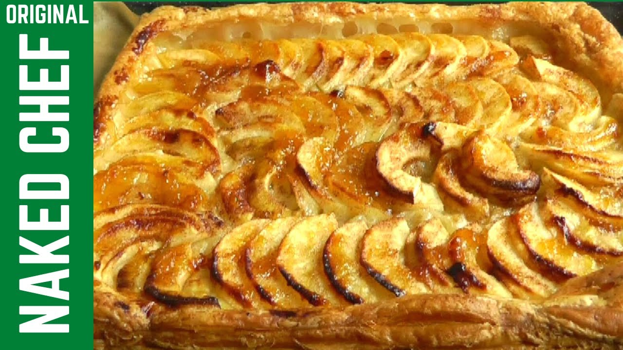 French Apple Tart Puff Pastry