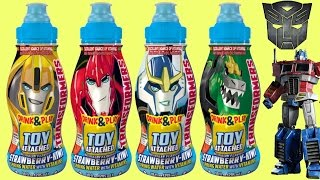 TRANSFORMERS ROBOTS IN DISGUISE Drink & Play Toys