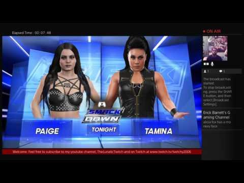 WWE 2K16 Universe Mode- FCW Shockwave