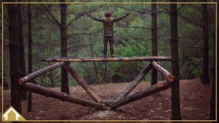 The Timbers Treehouse Camp // 02// Foundation with Bushcraft Skills