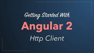 angular 2 http client accessing rest web services quickstart tutorial 2016