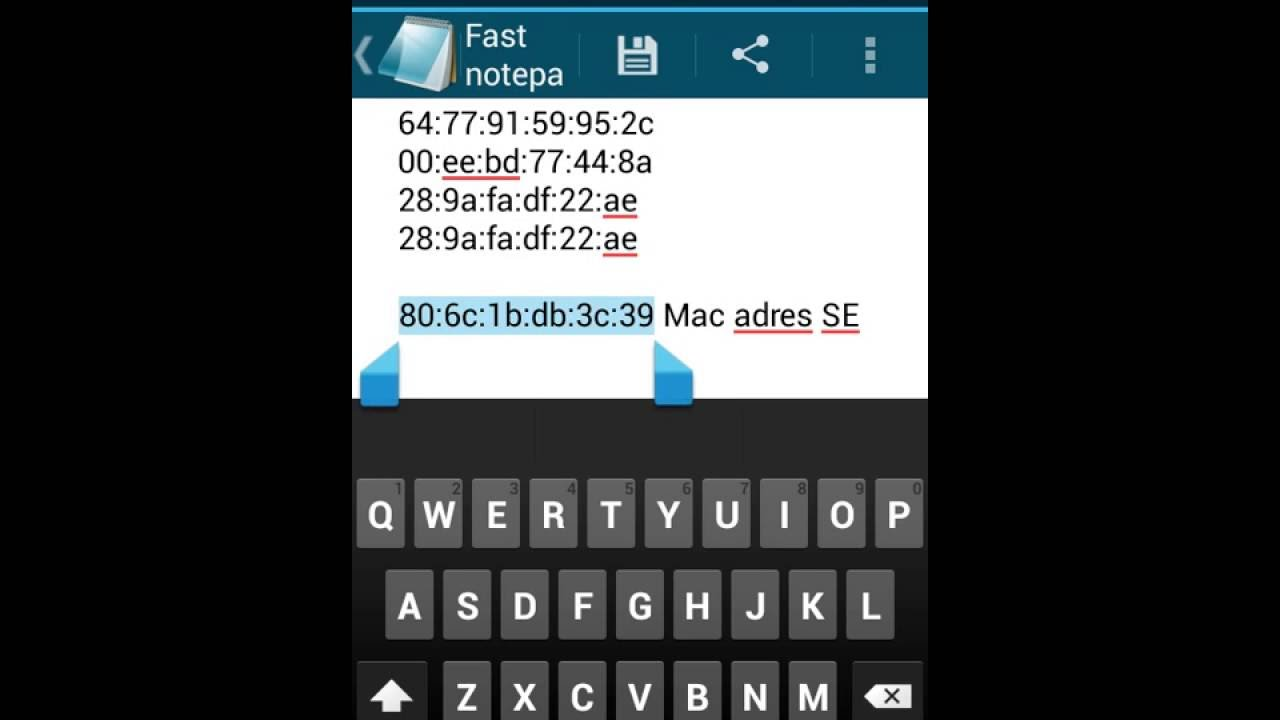 how to get mac address of android phone remotely
