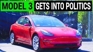 Tesla Model 3 Gets Into Politics in New York